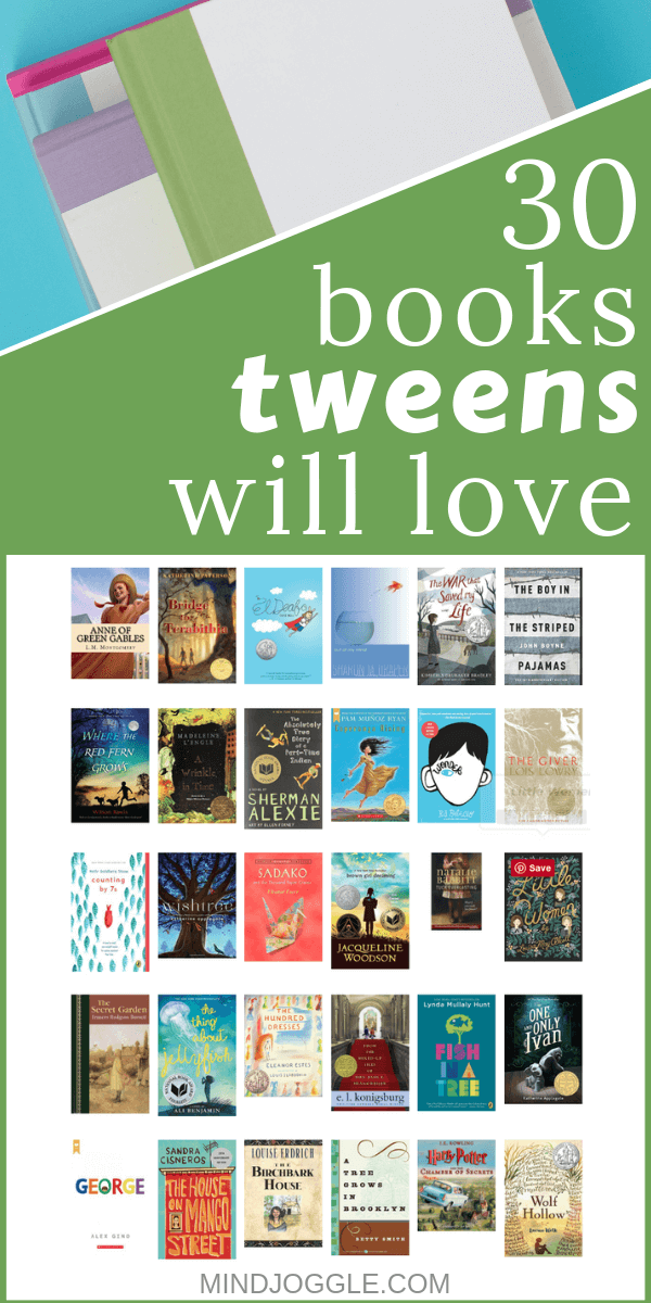 30 of the Best Middle Grade Books for Tweens and Kids | Mind