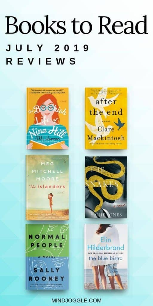 Mini Reviews of Recent Reads: July 2019 | Mind Joggle